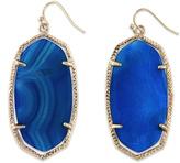 Kendra Scott Danielle Blue Agate Earrings