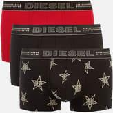 Diesel Men's Damien Three Pack Boxer Shorts - Multi - M - Multi
