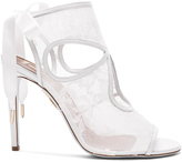Aquazzura Lace Sexy Thing Bridal Heels