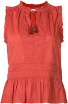 Ulla Johnson sleeveless frill top - women - Cotton - 0