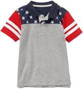 Gymboree Flag Polo Shirt