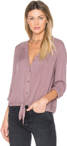 Bella Dahl Tie Front Button Up