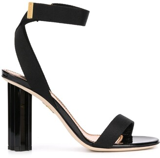 DSQUARED2 Sculpted Heel Leather Sandals