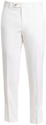 Saks Fifth Avenue COLLECTION Wool Super 100 White Trousers