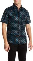 Public Opinion Sketched Cube Short Sleeve Regular Fit Shirt