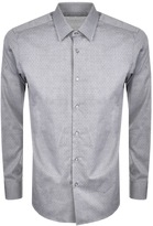 HUGO BOSS Black Enzo Shirt Grey