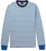Paul Smith Striped Loopback Cotton-Jersey Sweatshirt