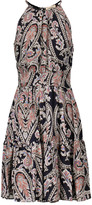 L'Agence Alyse printed silk-chiffon dress