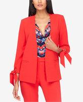 Tahari ASL Tie-Sleeve Jacket