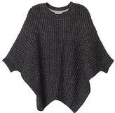 Cozy Sweaters Crewneck Poncho