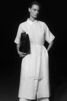 Cos Linen Shirt Dress