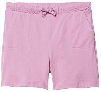 #4kids Essential Pull-On Shorts (Little Kids/Big Kids) (Navy) Girl's Clothing