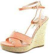 Madden-Girl Viicki Women US 11 Orange Wedge Sandal