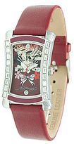 Ed Hardy Womens Red Watch w Crystals