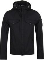 Cp Company Black T-mack Waterproof Watchviewer Jacket