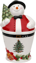 Spode Christmas Tree Mr. Snowman Cookie Jar