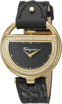 Salvatore Ferragamo Women's FG5140015 Buckle Analog Display Quartz Watch