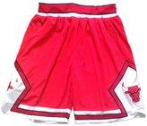 SnoKKe Men's Basketball Shorts Red XXL