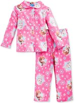 Disney Frozen Elsa Anna Toddler Flannel Pajamas