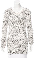 A.L.C. Long Sleeve Scoop Neck Sweater