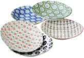 Noritake 5 Piece 22cm Porcelain Deep Plate Set