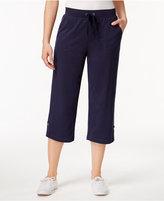 Karen Scott Active Capri Pants, Created for Macy's