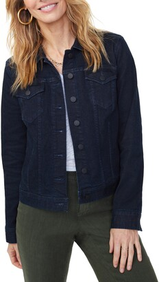 NYDJ Collared Denim Jacket