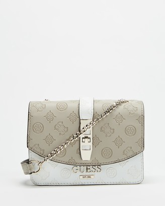 GUESS Peony Classic Mini Cross-Body Flap Bag