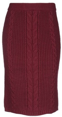 Kontatto Knee length skirt