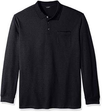 Van Heusen Men's Size Big and Tall Flex Jaspe Polo Shirt