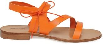 Mansur Gavriel Tie Sandal - Orange
