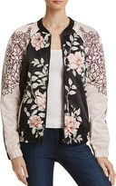 GUESS Luba Floral Bomber Jacket