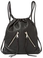 Rebecca Minkoff Moto Leather Drawstring Backpack