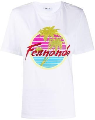 P.A.R.O.S.H. Fernando oversized T-shirt