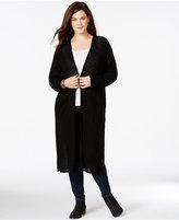 ING Trendy Plus Size Duster Cardigan