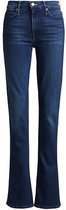 Mother Runaway High-Rise Bootcut Jeans
