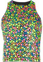 Jeremy Scott smarties tank top