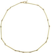Ten Thousand Things 15 Inch Cast Line Necklace - Yellow Gold