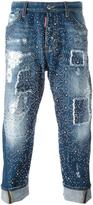 DSQUARED2 'Big Brother' studded jeans