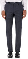 Incotex Men's S-Body Slim-Fit Wool Trousers-NAVY