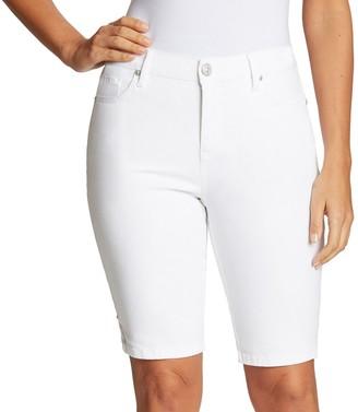 Gloria Vanderbilt Women's Midrise Bermuda Shorts