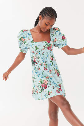 Laura Ashley UO Exclusive Penelope Toile Babydoll Dress
