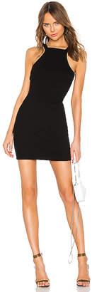 Alexander Wang Varigated Compact Jersey Dress