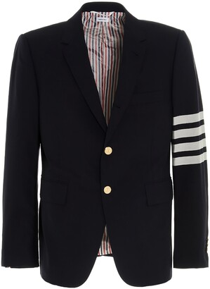 Thom Browne 4-Bar Tailored Blazer
