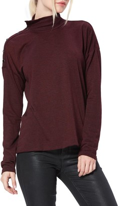 Paige Paxton Convertible Neck Sweater
