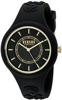 Versus By Versace Women's SOQ050015 Fire Island Analog Display Quartz Black Watch