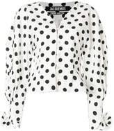 Jacquemus polka dot button up blouse