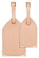Aspinal of London Luggage Tags Deer Brown