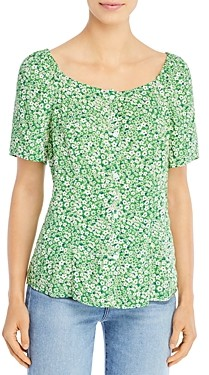 BeachLunchLounge Etta Printed Top