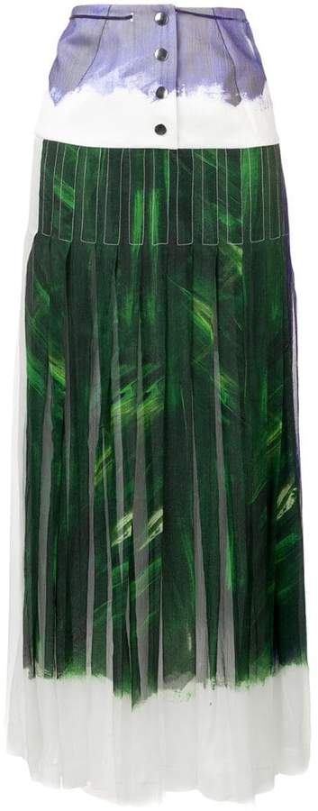 9ab98f51db Pleated Maxi Skirt High Waisted - ShopStyle UK